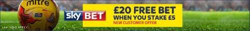Free bet from Skybet