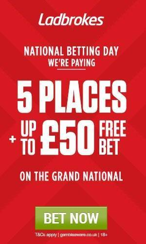 Ladbrokes Offer for Grand National 2016