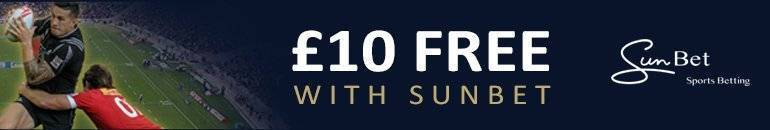 Claim £10 Free at SunBets